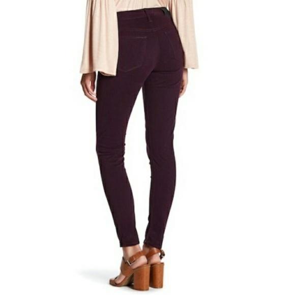 Lucky Brand Denim - Lucky Brand Purple Velvety Skinny Jeans